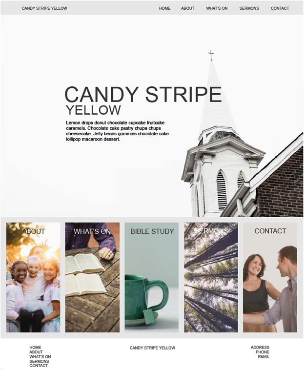 candystripFrontPage